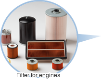 Filter for engines