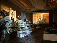 故人の追悼映像