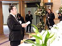 飯泉徳島県知事によるお別れの言葉