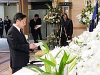 原徳島市長によるお別れの言葉