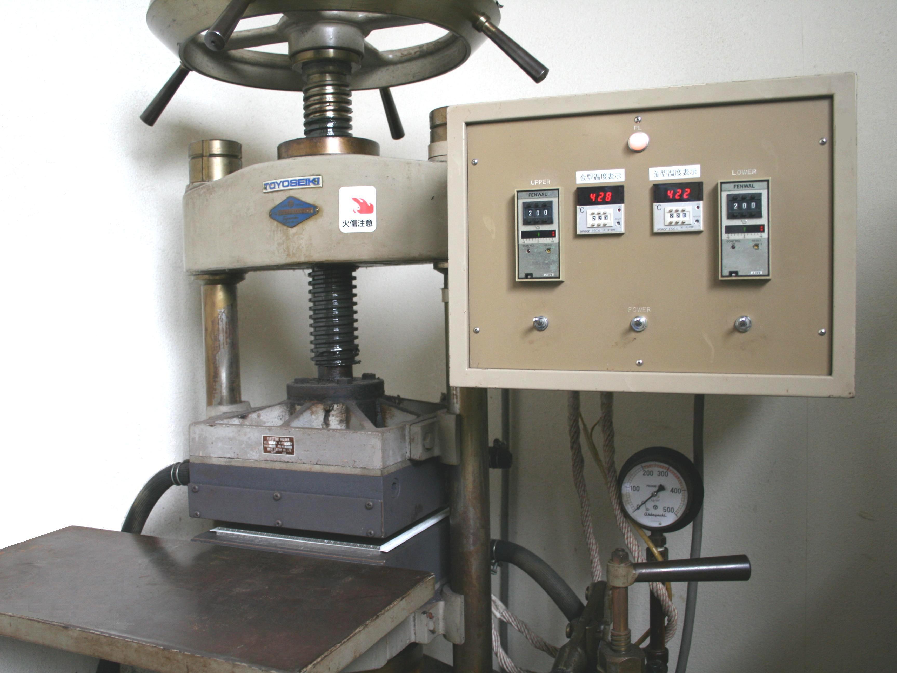 熱プレス機